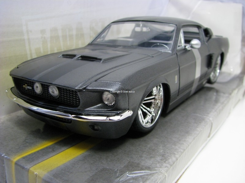 Shelby GT-500 1967 Grey 1:24 Jada Toys